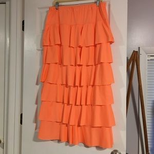 Custom Made Ruffle Skirt